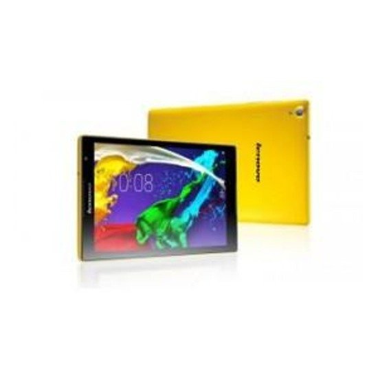 "Tablet Lenovo S8-50L 8""/Z3745/2GB/16GB/Andr.4/GPS/LTE/yellow"