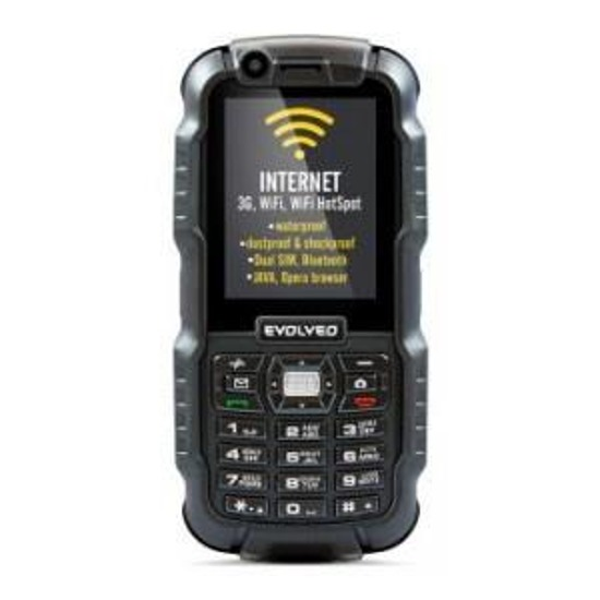 Telefon Evolveo StrongPhone WiFi, IP67, DUAL