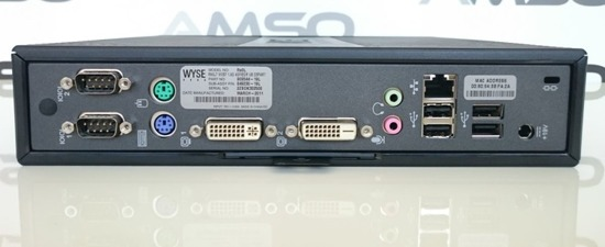 Terminal Wyse Rx0L Sempron 1,5Ghz 210U 2GB 8GB Flash SATA Windows Embedded 7