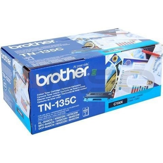 Toner Brother TN-135 Cyan, 4000 str.
