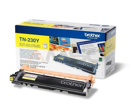Toner Brother TN-230Y Yellow, 1400 str.