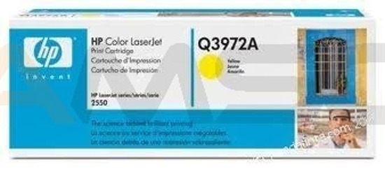 Toner HP LJ 2550/2820/2840 Yellow