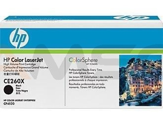 Toner HP LJ CP4525 Black