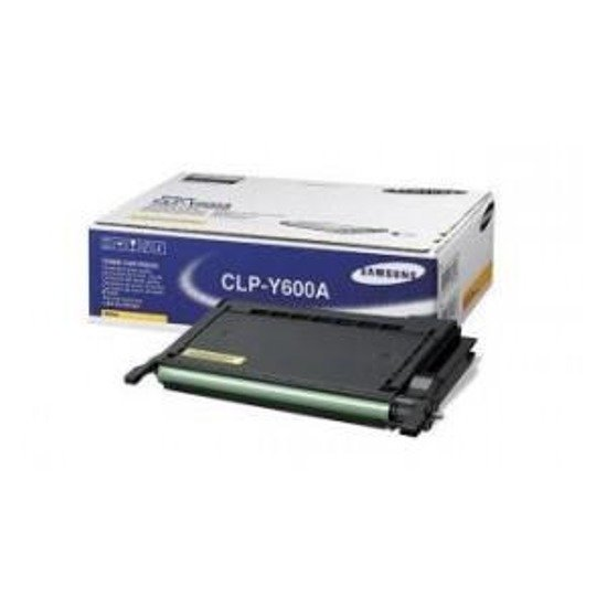 Toner Samsung CLP-Y600A Yellow (wyd. do 4000 str.)