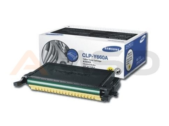 Toner Samsung do CLP-Y660A Yellow (wyd. do 2500 stron)