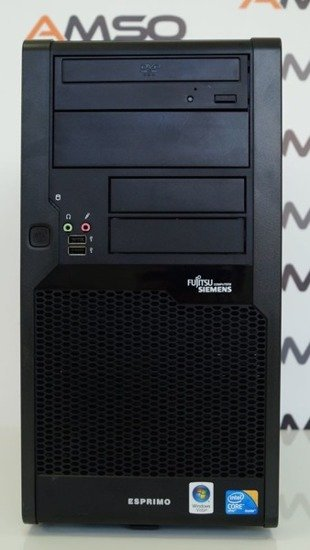 Tower Fujitsu P7935 E8400 4GB 160GB DVD Windows 8.1 PL