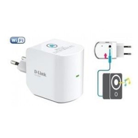 Transmiter D-LINK DCH-M225 Music Everywhere mydlink Home Wi-Fi Audio Extender