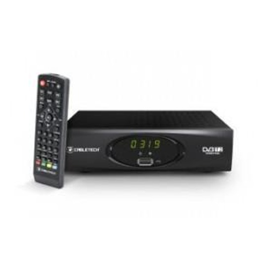 Tuner Cabletech DVB-T / DVB-T2 HD do TV naziemnej URZ0319