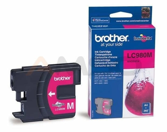 Tusz Brother LC-980M Magenta