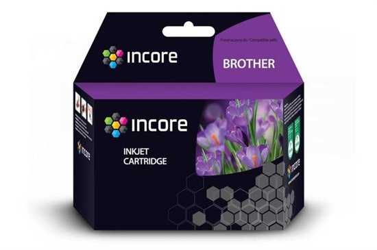 Tusz INCORE do Brother (LC1100Y) Yellow 25 ml