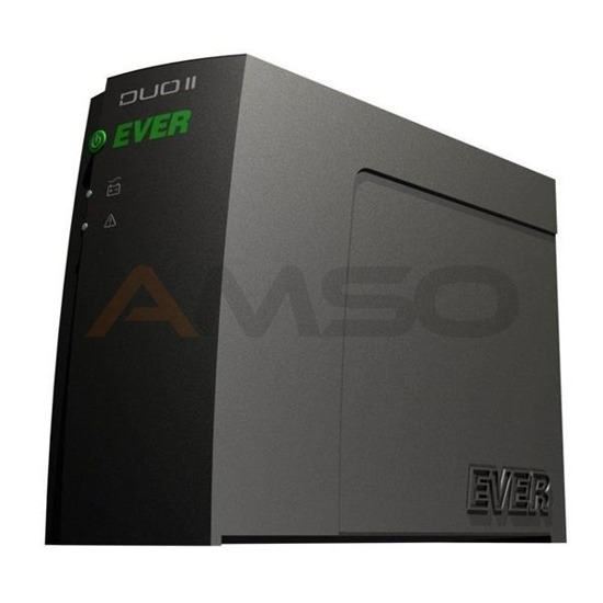 UPS Ever OFF-L Duo II Pro 800VA 4xIEC USB LED Bl