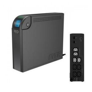 UPS Ever OFF-L LCD 800VA 4xIEC USB LCD Bl