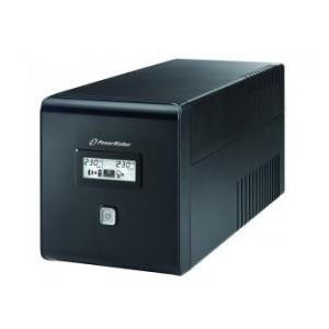 UPS POWER WALKER LINE-I 1000VA 2xPL + 2xIEC RJ/USB LCD