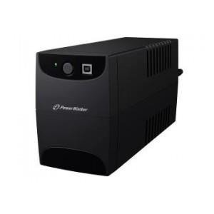 UPS POWER WALKER LINE-I 650VA 2xSCHUKO RJ11 IN/OUT USB
