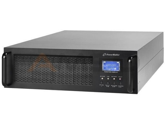 UPS POWER WALKER ON-L 10000VA 1xIEC+TERM. RJ/USB/RS LCD 19""