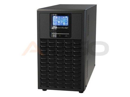 UPS POWER WALKER ON-L 2000VA 8xIEC RJ/USB/RS LCD EPO Tower