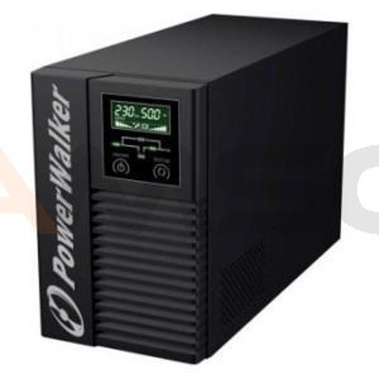 UPS Power Walkier On-Line 2000VA 2XRS-232/1XUSB LCD Tower