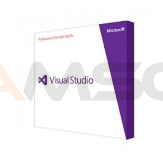 Visual Studio Professional 2013 English VUP DVD