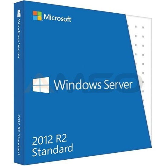 Windows Server 2012 R2 Standard 64Bit English 10 Clt BOX