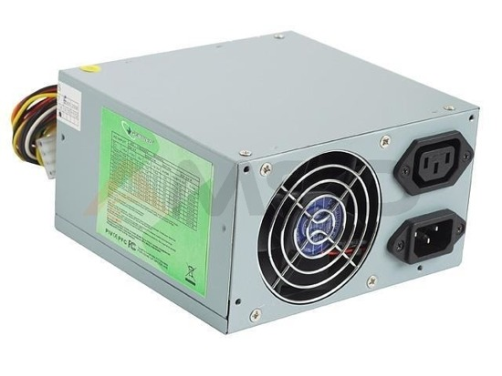 Zasilacz Gembird 500W ATX, PFC low noise 2 x 80 mm