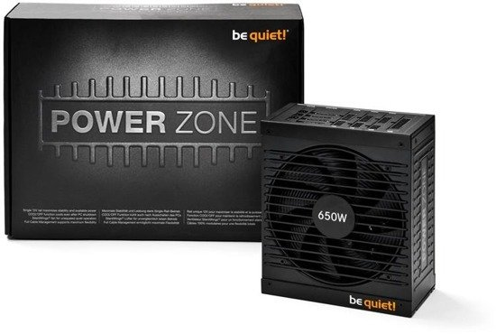 Zasilacz be quiet! Power Zone 650W 135mm aPFC CM 80+ Bronze