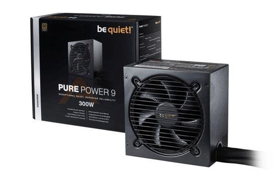 Zasilacz be quiet! Pure Power 9 300W 120mm 80+Silver