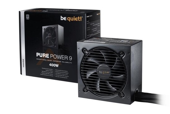 Zasilacz be quiet! Pure Power 9 400W 120mm 80+Silver