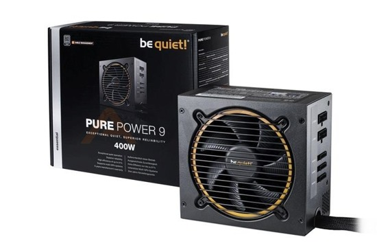 Zasilacz be quiet! Pure Power 9-CM 400W 120mm 80+Silver
