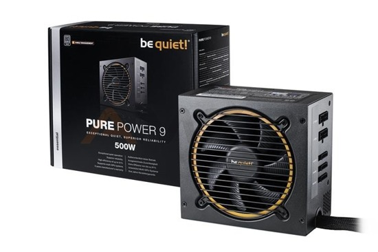Zasilacz be quiet! Pure Power 9-CM 500W 120mm 80+Silver