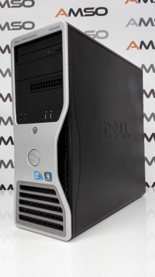 "Zestaw Dell T3500 HEXA CORE W3670 12MB 6x3.2/12GB/1TB WIN 7 PRO + LED 22"" + Klaw/Mysz"