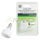 Adapter gniazda E14 na GU10 ESL013 LogiLight