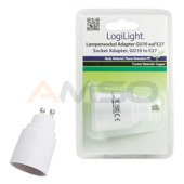 Adapter gniazda GU10 na E27 ESL015 LogiLight