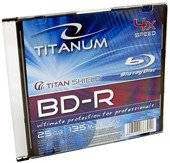 BD-R TITANUM 25GB x4 BLU-RAY SLIM CASE 1