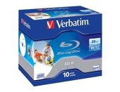 BD-R Verbatim 6x 25GB (Jewel Case 10) Blu-Ray Printable