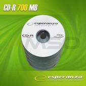 CD-R ESPERANZA 56x 700MB (Spindle 100) SILVER