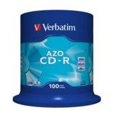 CD-R Verbatim 52x 700MB (Cake 100) CRYSTAL