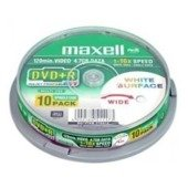 DVD+R MAXELL 4,7 GB 16x PRINTABLE CAKE 10