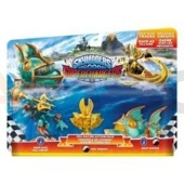 Dodatek do Skylanders Superchargers RACING PACK (SEA)  DEEP DIVE GILL GRUNT + REEF RIPPER+VILLAIN SEA TROPHY