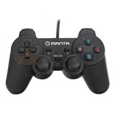 Gamepad Manta MM813 do gier USB Dual Vibration Analog