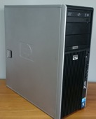 HP Z400 QUAD W3565 12GB 1TB Quadro 2000 Windows 8.1 Professional  PL