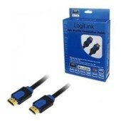 Kabel HDMI LogiLink CHB1102 High Speed Ethernet, 2m