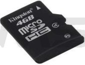 Karta pamięci KINGSTON Micro Secure Digital 4 GB Class-4 MicroSDHC