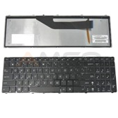 Klawiatura Qoltec do noteb. ASUS K50 BLACK FRAME BK