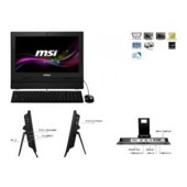 "Komputer AiO MSI Wind Top AP 15,6""touch/cel1037U/IntelHD/2GB/320GB black"