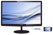 "Monitor LCD Philips 27"" LED IPS 277E6EDAD/00 DVI HDMI MHL głośniki"
