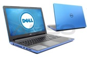 "Notebook Dell Inspiron 15 5559 15,6""HD/i7-6500U/8GB/1TB/R5 M335-2GB/ niebieski"