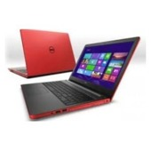 "Notebook Dell Inspiron 5558 15,6""HD/i5-5200U/4GB/500GB/GT920M-2GB/W81 czerwony"