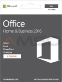 Office Home and Business 2016 Polish Medialess for Mac P2
