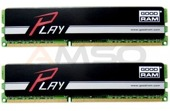 Pamięć DDR4 Goodram 16GB (2*8GB) 2400MHz PC4-19200 CL15 DUAL CHANNEL KIT GOODRAM PLAY