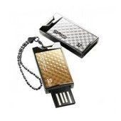 Pendrive Silicon Power 16GB Touch 851 Gold Luxury Design